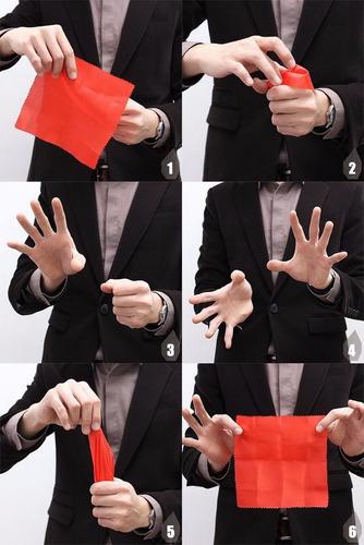 mágica fazer desaparecer lenço dedo falso postiço liquidação