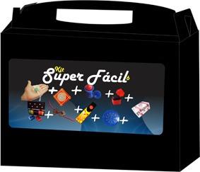 mágica kit super fácil 6 com dvd