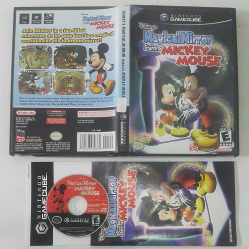 magical mirror starring mickey mouse disney  / gamecube  wii