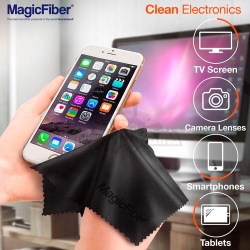 magicfiber paño limipeza microfibra para lentes cámara y más
