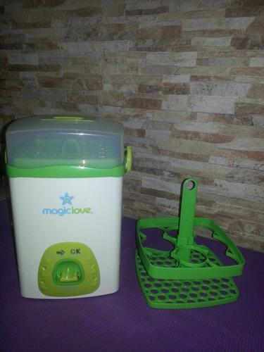 magiclove. esterilizador de teteros eléctrico. oferta.