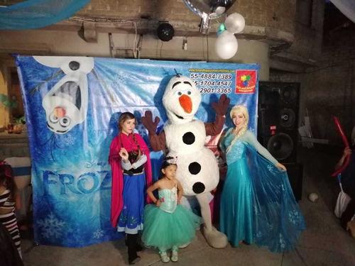 magico show de frozen en cdmx!