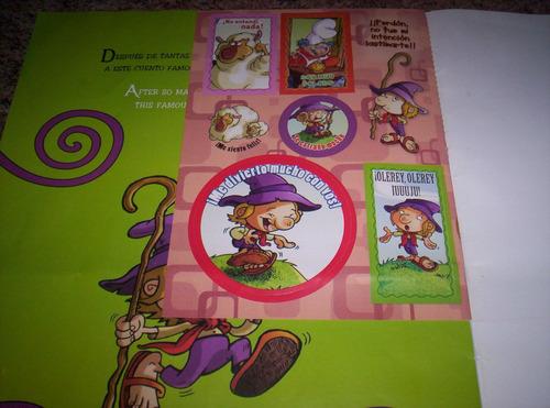 magicuento bilingüe: el pastorcito mentiroso. con stickers!!