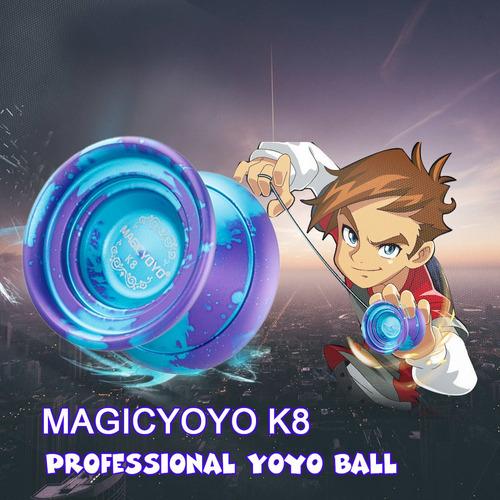 magicyoyo k8 pulido aleación aluminio profesional yoyo bola