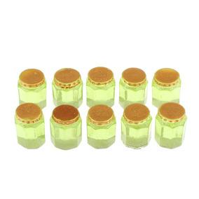 5f312a99a77cf0 Magideal 10pcs Miniatura Mel Jars 1/12 Casa De Bonecas Decor