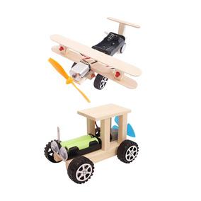 Magideal Avião & Carro Modelo Estojo Elétrico Diy Crianças E