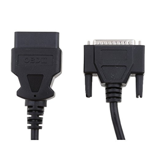 MagiDeal DB25 25Pin to 16 Pin OBD2 OBDII Connector Car Motor Diagnostic Tool Cable