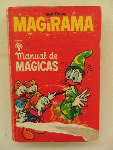 magirama manual de mágicas! ed. abril 1975!
