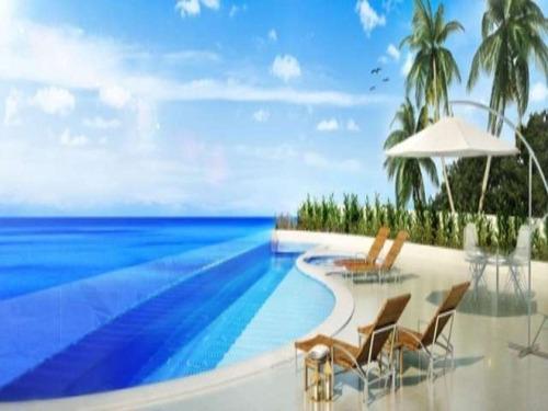 magistrale 4 quartos suites 288m2 frente mar no rio vermelho - lit489 - 4497437