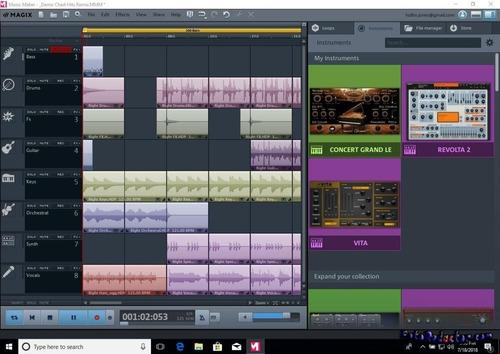 magix music maker premium 19 software licencia original full