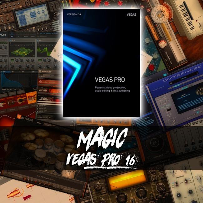 Magix Vegas Pro 16 Editor De Video Profesional