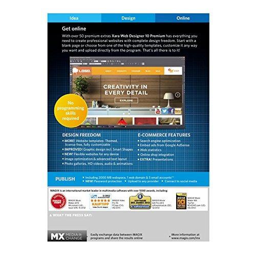 magix xara web diseñador 10 prima