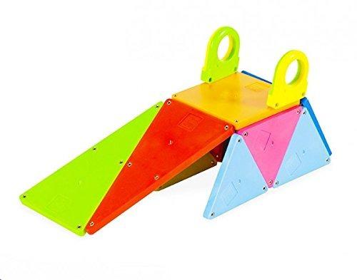 magna-tiles 02148 solid colors 48 pc dx set juguete