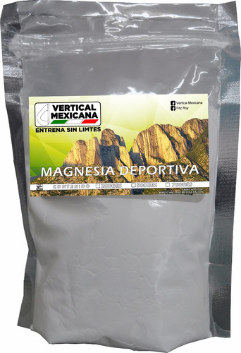 magnesia 750 grs para escalada gimnasia crossfit gym workout