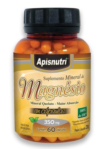 magnésio 350mg 60 cápsulas o melhor