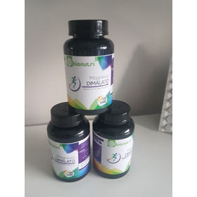 Magnésio Dimalato 500 Mg/120 Cápsulas,suplemento De Magnésio