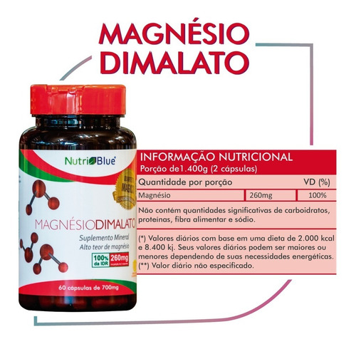 magnesio dimalato - original