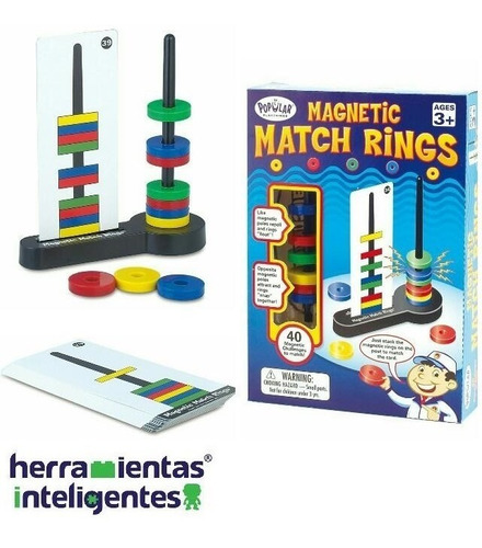 magnetic match rings popular playthings  3+