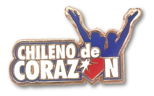 magnético chileno de corazón