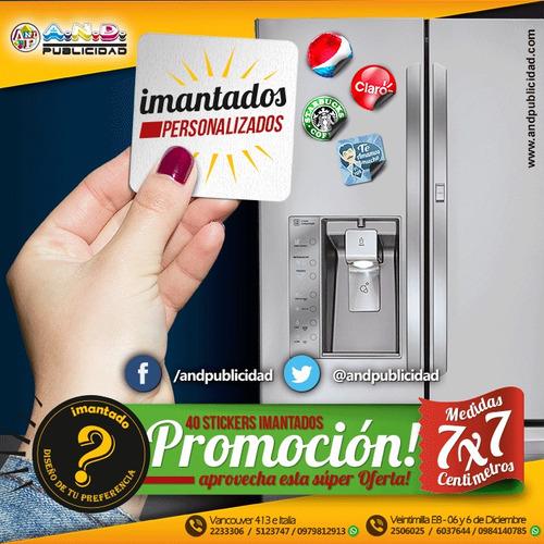 magnetico / imantados promocionales 40 a un excelente precio