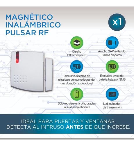 magnetico inalambrico accesorio alarma marshall led pulsar