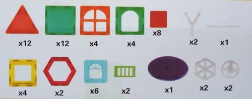 magnetico juego didactico imanes 62 pzs zaki babymovil