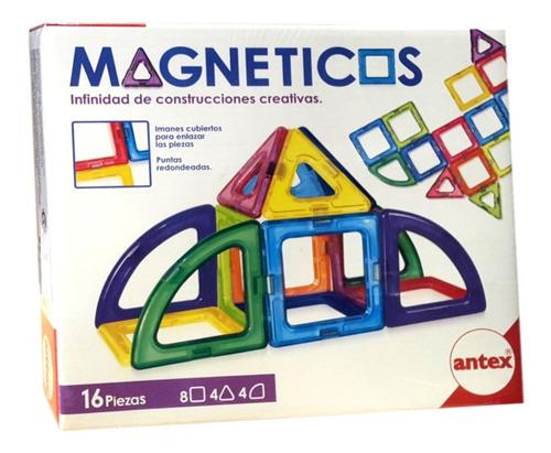 magneticos 16 piezas plasticas con iman antex mundo manias