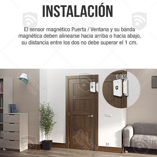 magneticos puerta ventana alarmas inalambrica casa negocio
