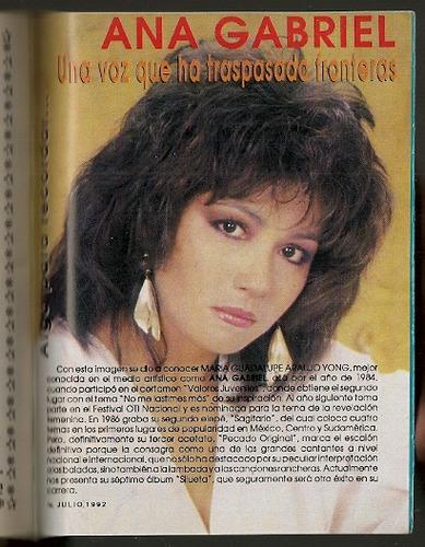 magneto ana gabriel revista notitas musicales de 1992 ndd