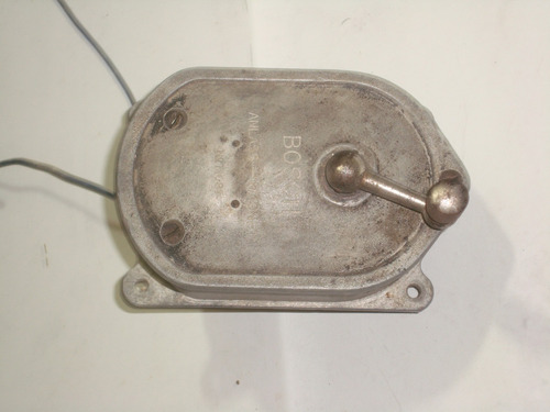 magneto bosch utilizado na primeira guerra mundial.