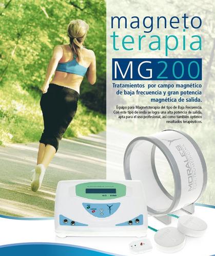 magnetoterapia 200 gauss mg200 electromedicina morales