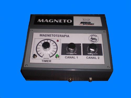 magnetoterapia magneto 200 gauss + 2 solenoides + túnel