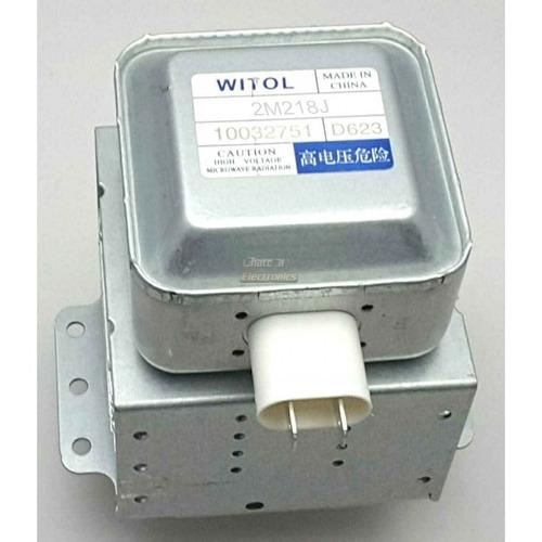 magnetron 2m218j para microndas - 2m218j witol novo original