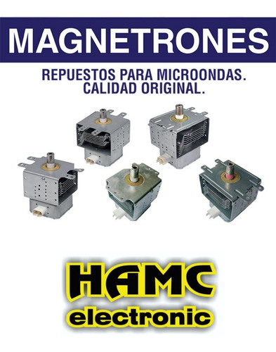 magnetron  2m319k-940 calidad original 100%