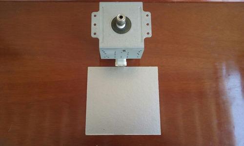 magnetron 2m519j mais placa de micra do microondas nn352