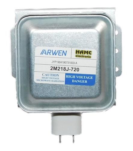 magnetron calidad original 2m218j reemplazo directo v/modelo
