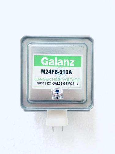 magnetron galanz original m24fb-610a - micro ondas novo + nf
