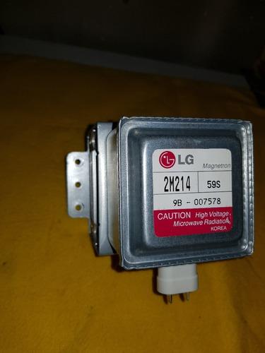 magnetrón lg 2m214 horno microondas