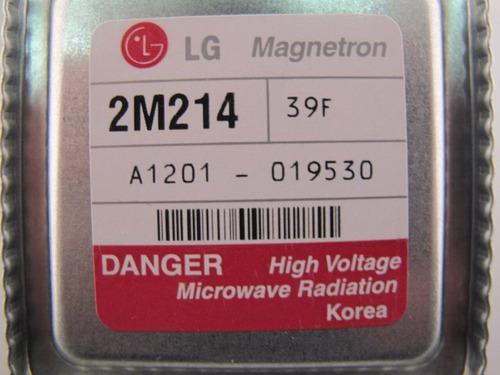 magnetron micro ondas lg 2m214 39f = 2m246 novo original +nf