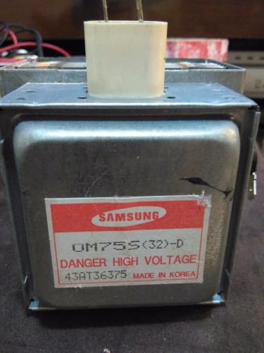 magnetron microondas samsung om75s(32)_d original