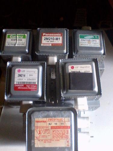magnetrones varias marcas y modelos(usado)