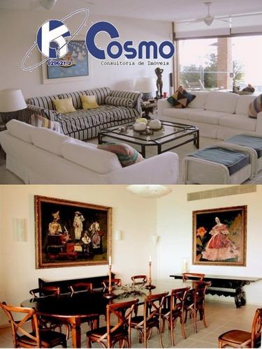magnífica  casa á venda,  alto padrão, guarujá, praia da enseada,  península única, 5468 m² de terreno - ca00014 - 4243852