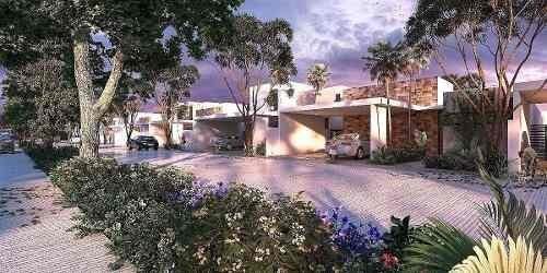 magnifica casa en preventa en privada  amidanah  en temozon modelo b