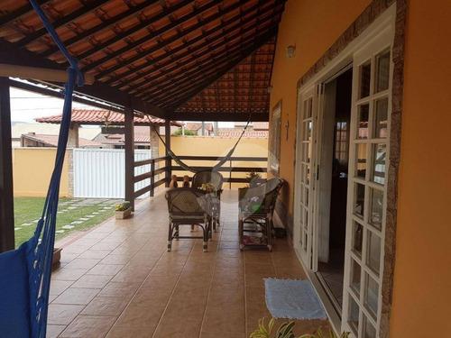 magnífica casa na praia de jaconé - ca0958