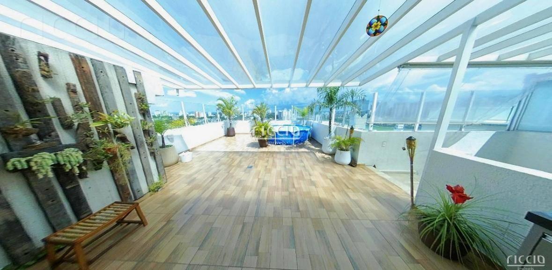 magnifica cobertura triplex repleta de armários - edifício mediterrâneo esplanada - co0102