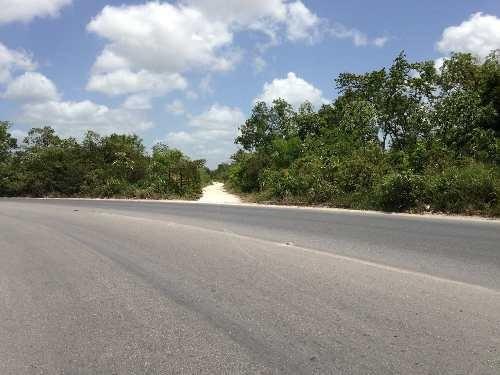 magnifica propiedad!!! terreno en venta en cancún a orilla de arco vial c1326