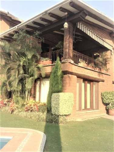 magnifica residencia de capricho en club de golf san gaspar, cuernavaca morelos