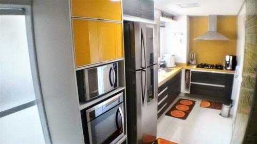 magnífico apartamento moderno e amplo com vista da cidade! - 170-im264846