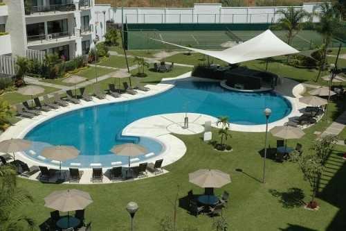 magnífico departamento en club de golf paraíso cluster 1