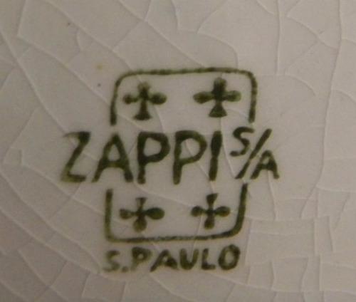 magnífico medalhão zappi paisagem assinado